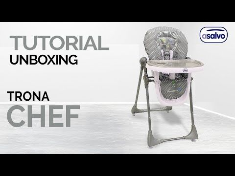 4eac1f3c5 Tutorial Unboxing l Trona Chef l Asalvo // Unboxing Tutorial l High Chair  Chef l Asalvo