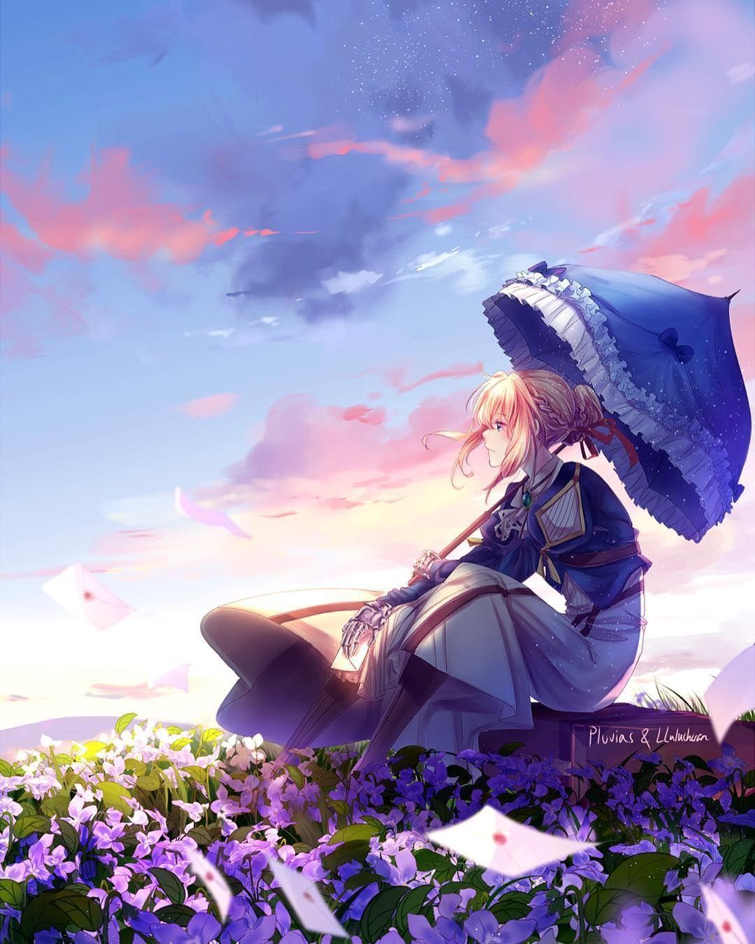 Violet Evergarden VioletEvergarden animes violet