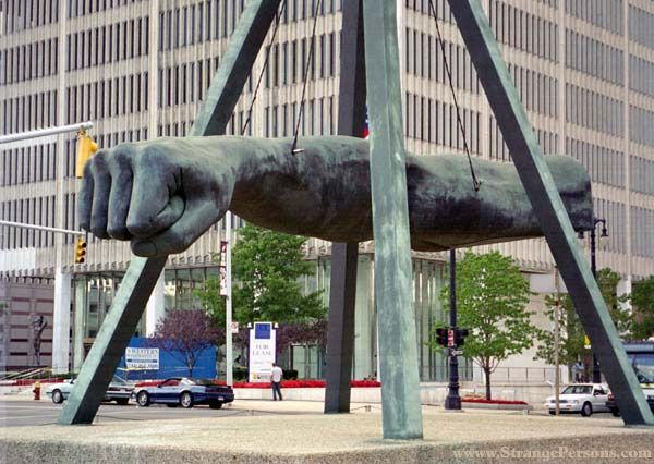 joe louis fist detroit