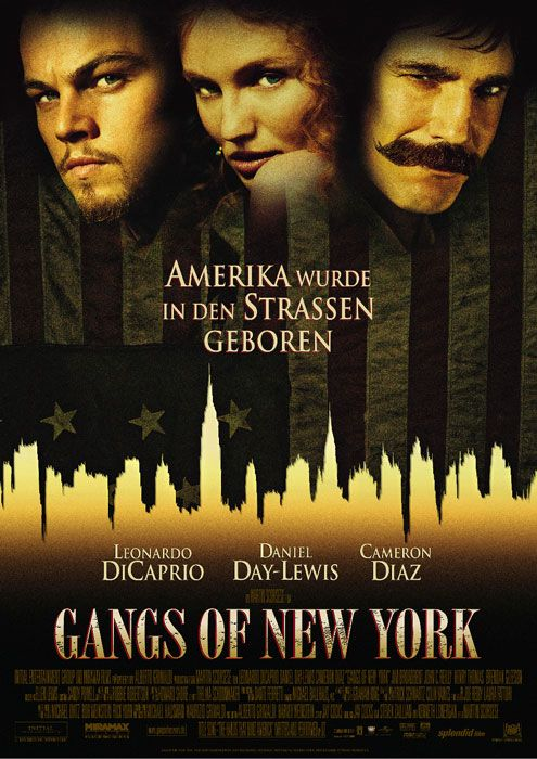 poster zum film gangs of new york m c in 2019 pinterest filme filmplakate. Black Bedroom Furniture Sets. Home Design Ideas