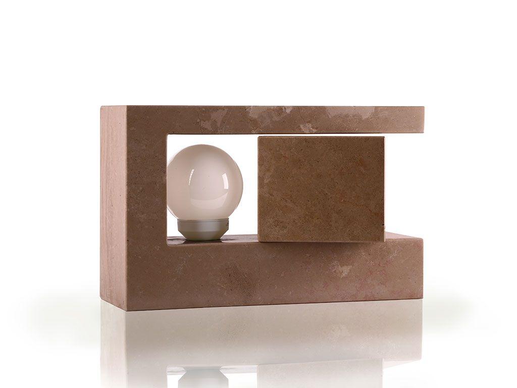 Tavolo stones ~ Lampada da tavolo di design in pietra evolution idee pinterest
