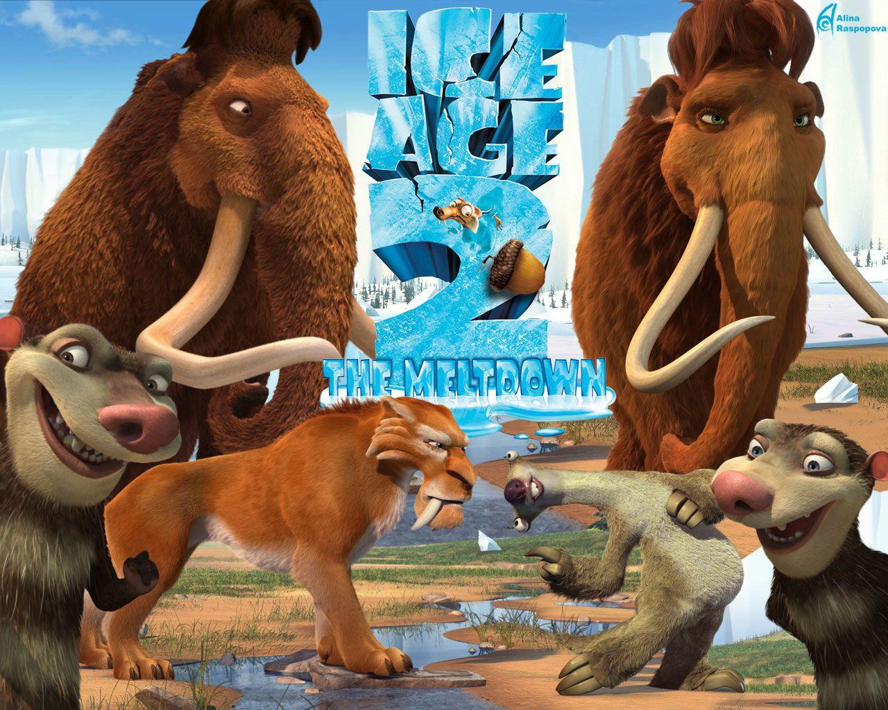 La-era-del-hielo-4 (1)   Cartoons   Pinterest   Hielo, La era del ...