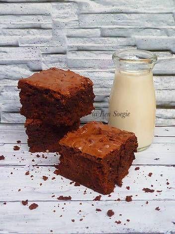 Resep Koko Krunch Brownies Oleh Iien Soegie Resep Makanan Resep Brownies
