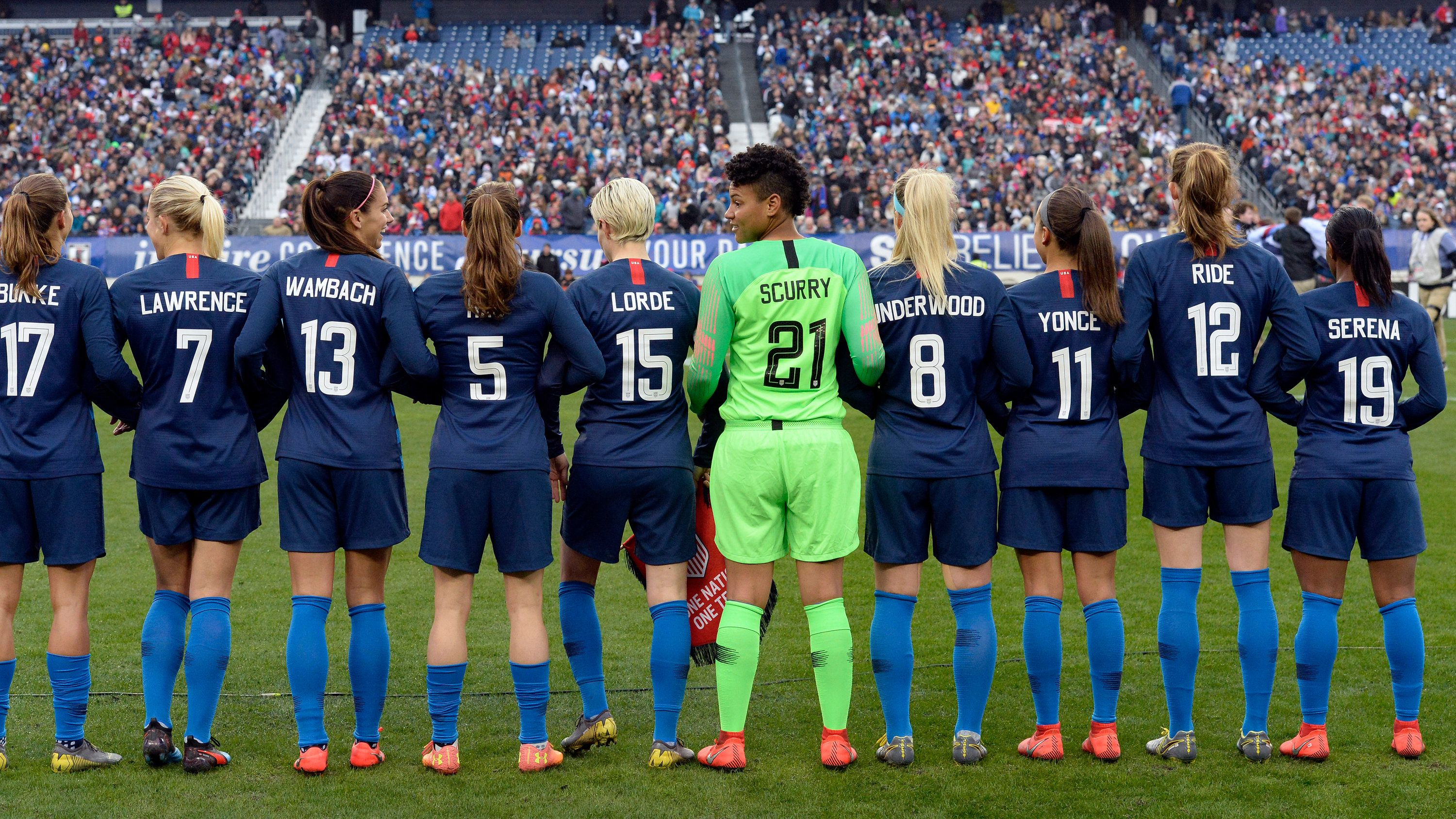 8 Times Women In Sports Fought For Equality Women S Soccer Team Womens Soccer Female Soccer Players