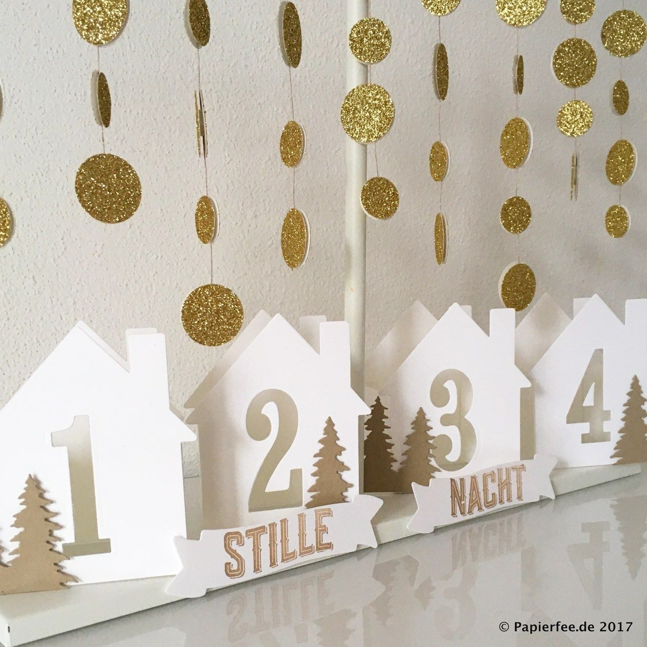 stampin 39 up weihnachten adventskranz adventskalender framelits willkommen zu hause. Black Bedroom Furniture Sets. Home Design Ideas