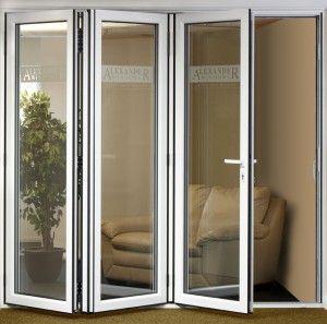 Preco De Atacado Portas De Acordeao Interiores De Liga De Aluminio