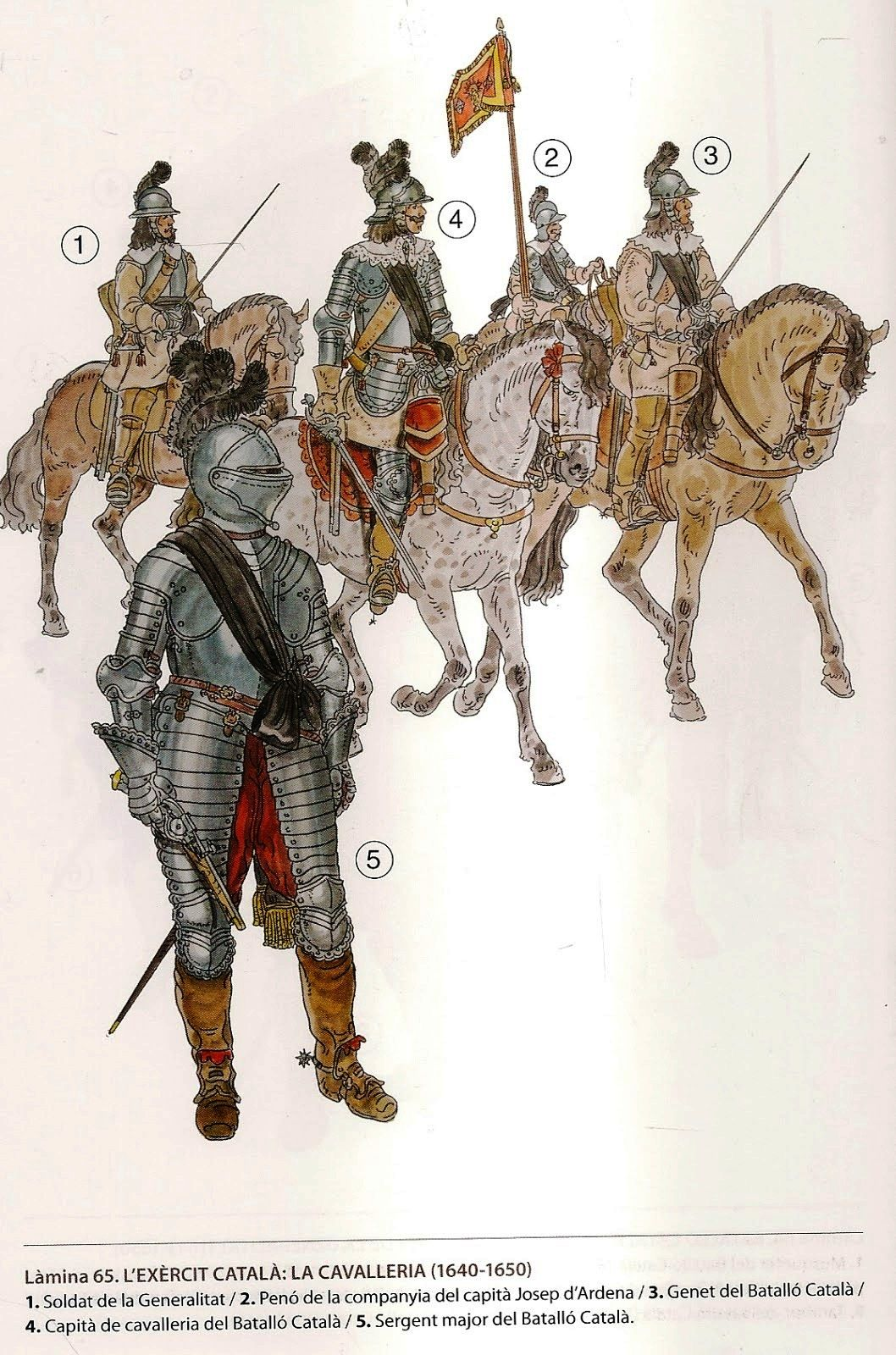 17th Century Western European Cavalry Historical Illustration Historical Warriors Early Modern Period