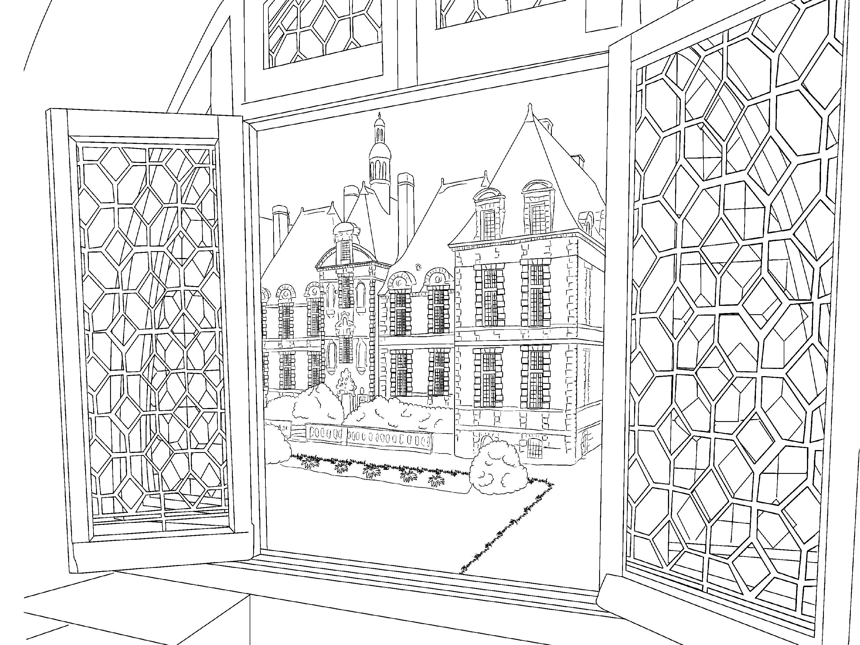 Beautiful Scenery Colouring Pages | Coloring Sheets | Pinterest ...