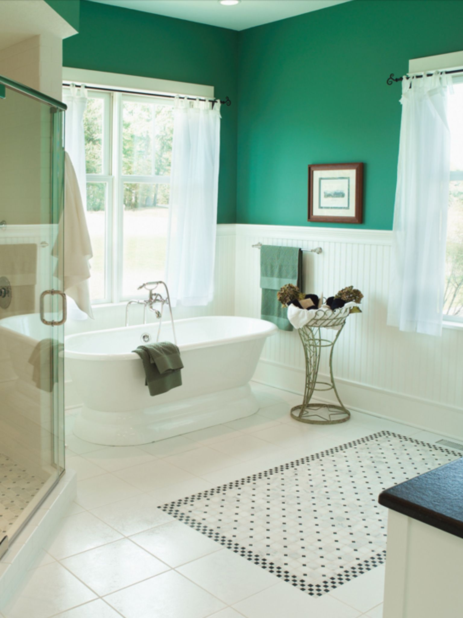 decorative floor tile - Master bathroom colors like the colors