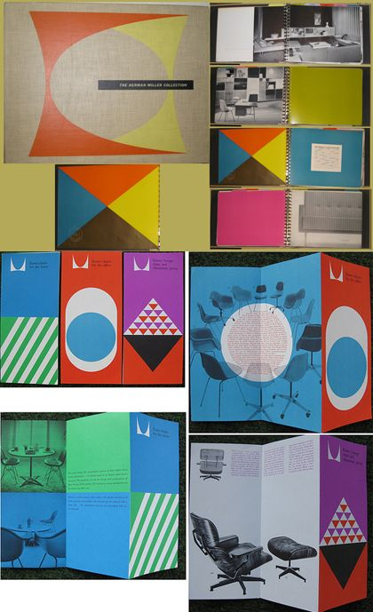 Retro graphic literature from Herman Miller. I have always admired their branding.