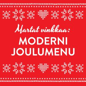 ★ Fiery Red ★ Moderni joulumenu