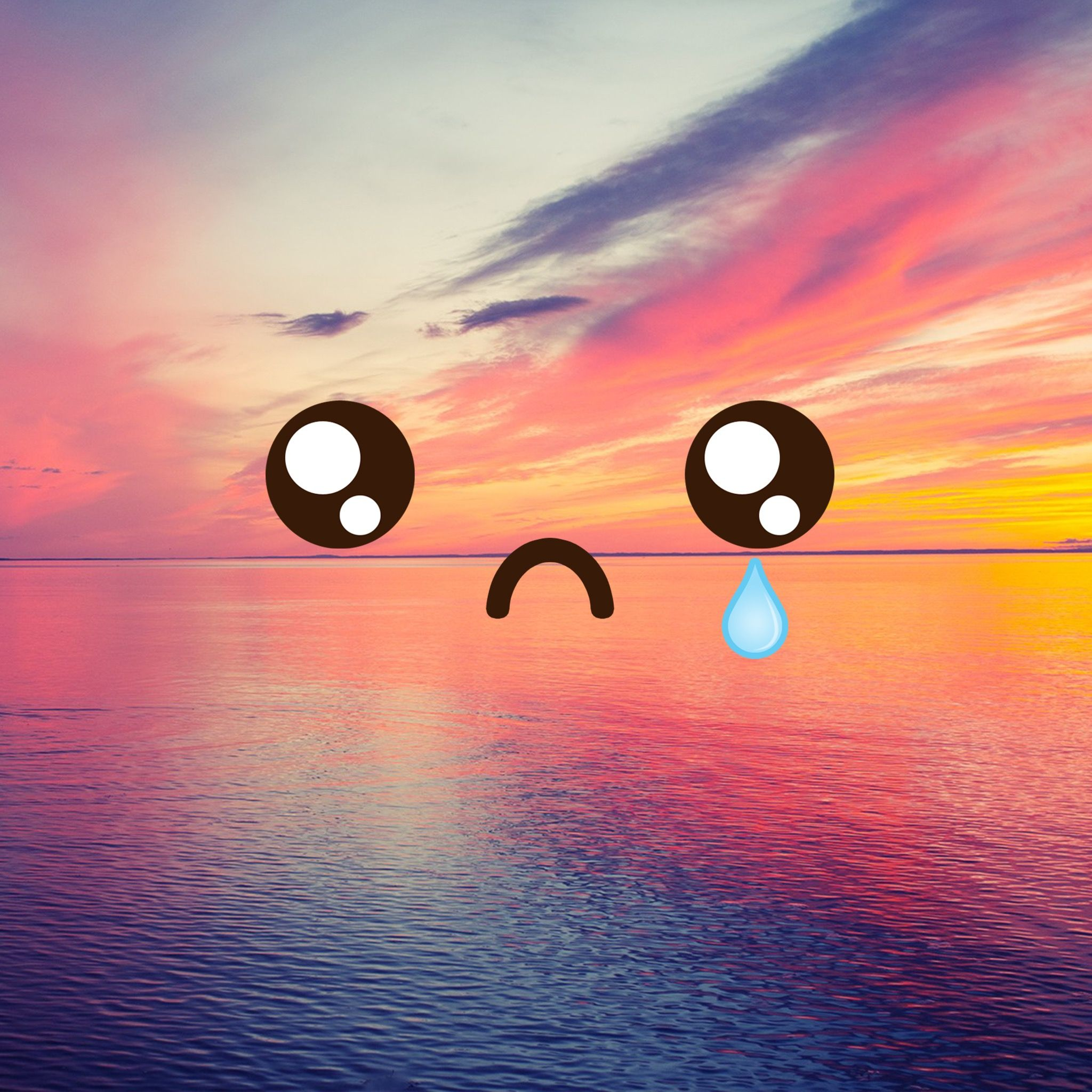 Sad sunset wallpaper