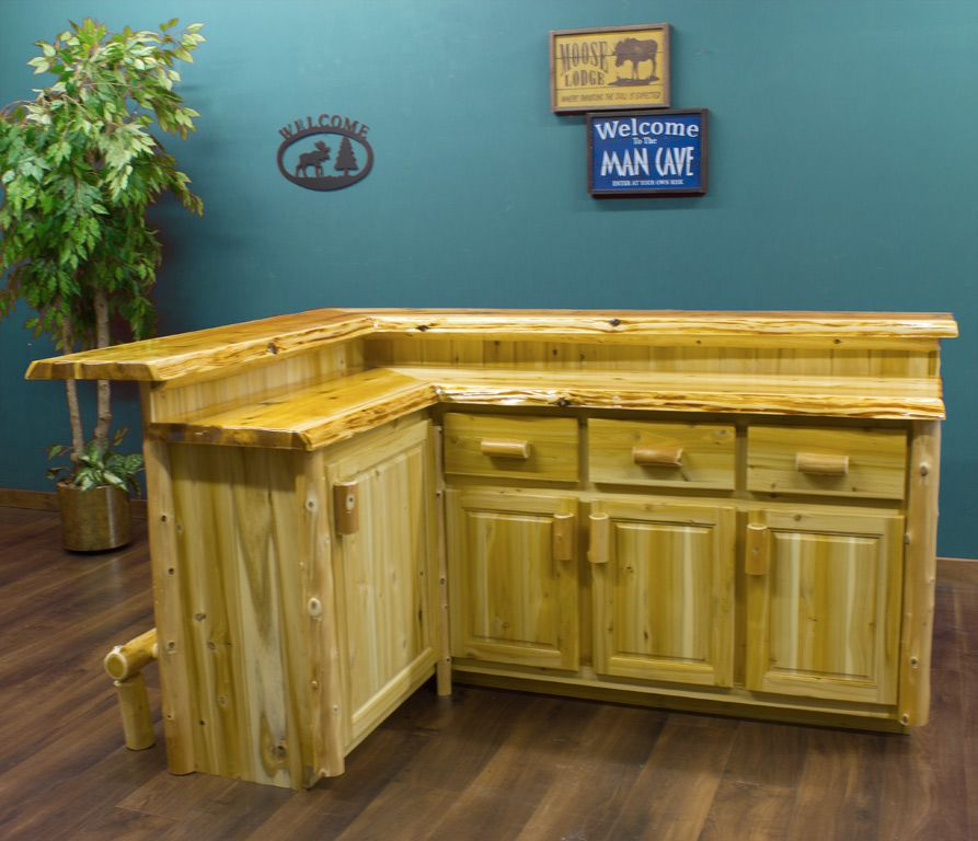 Cedar Lake Custom Made For You Log Bar