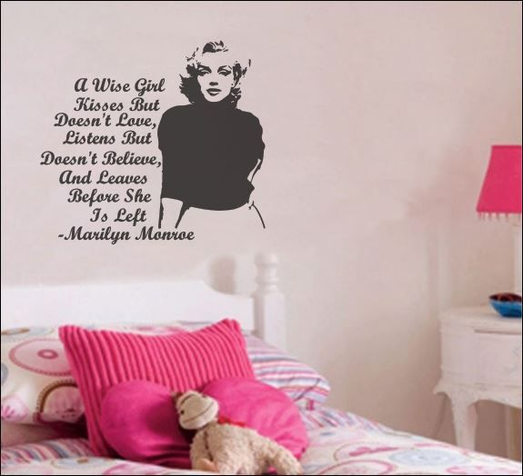 Marilyn Monroe Quote Decal — Betsy Decals #love #marilynmonroe #beautiful #quote