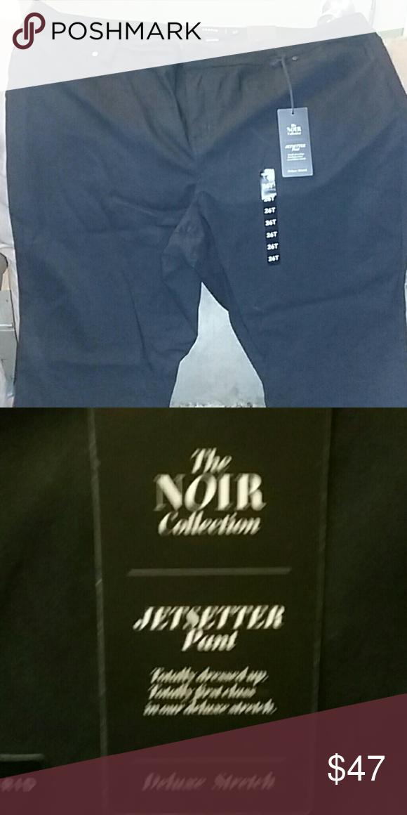 TORRID Black jetsetter pantS Torrid nwt..the noir collection..skinny..deluxe stretch..size 26t Pants Skinny