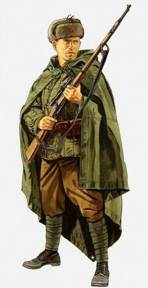 ac576e39ce Soviet sniper at Stalingrad … | WWII INFANTRY | Ww2 u…