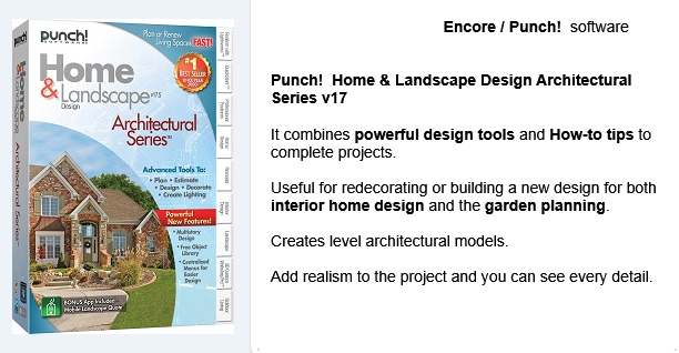 Punch home landscape design architectural series v17 - Punch home design architectural series ...