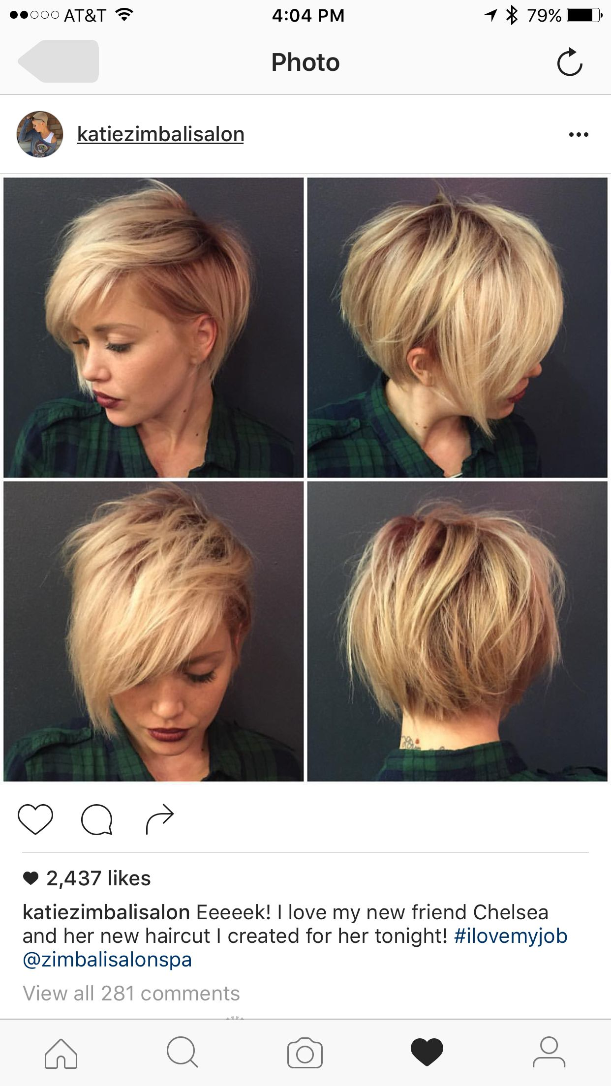 Pin by Tia Klinger on hurrr  Pinterest  Haircuts Hair cuts and
