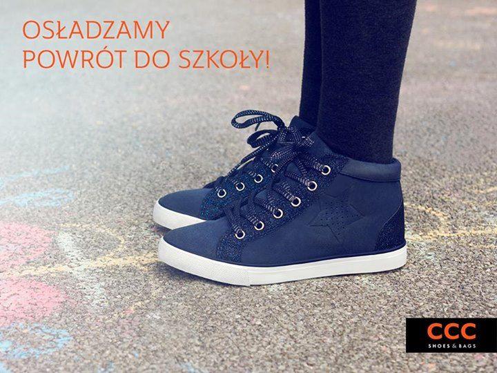 Witaj Szkolo Rabaty Dla Klubowiczow Ccc 20 Na Buty Sportowe Trampki Polbuty Czolenka Baleriny Torby I Plecaki 30 Na Led Shoes Shoes High Top Sneakers