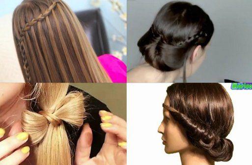 bellos y faciles de crear el cabello mi material de trabajo