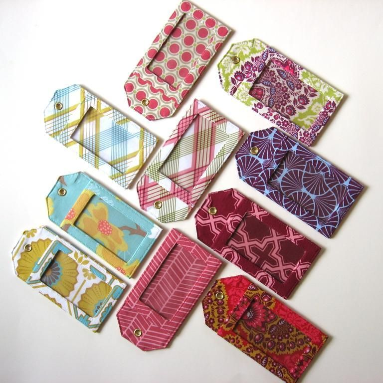 how to make luggage tags cool stuff pinterest sewing patterns