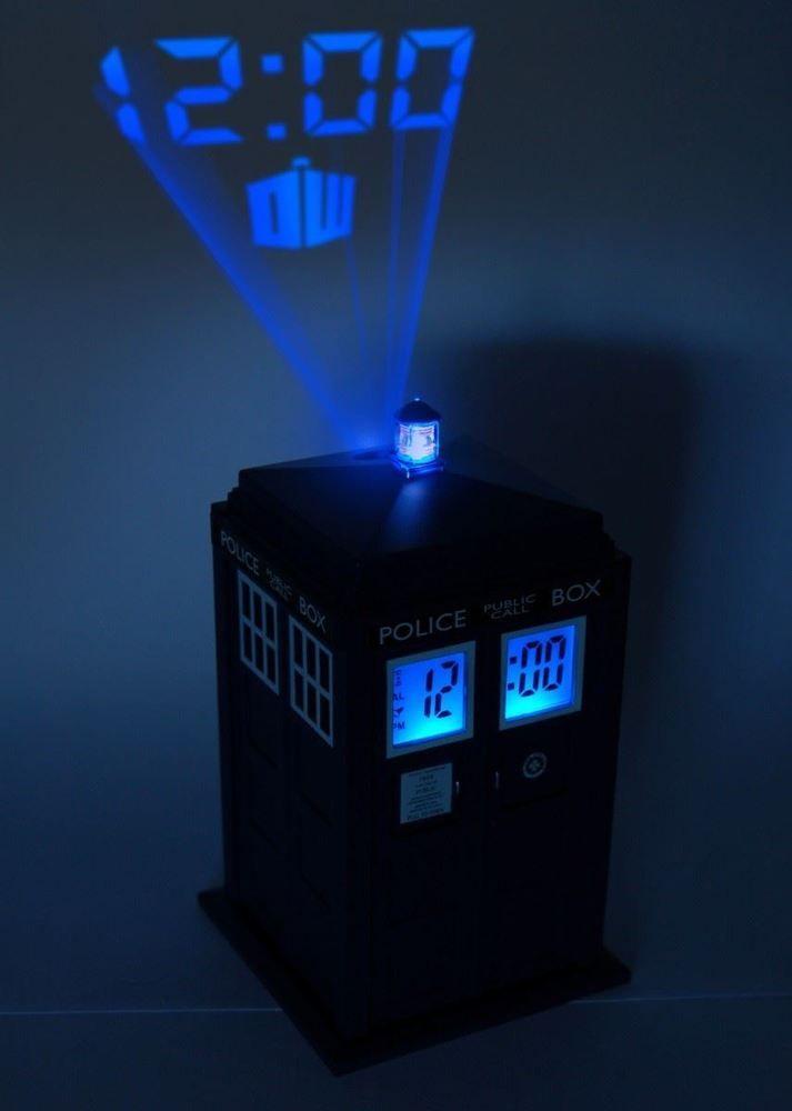 wecker kinderzimmer, doctor who tardis projektion digitaler wecker -uhr mit sfx licht dr, Design ideen