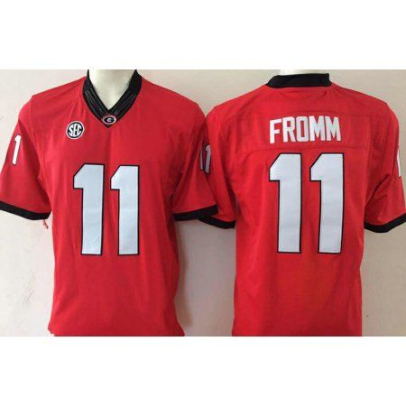 online store 96a04 5f153 Free Shipping. Buy Mens Georgia Bulldogs FROMM #11 Football ...