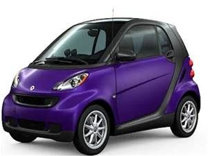 Purple Smart Car I Just Like The Color