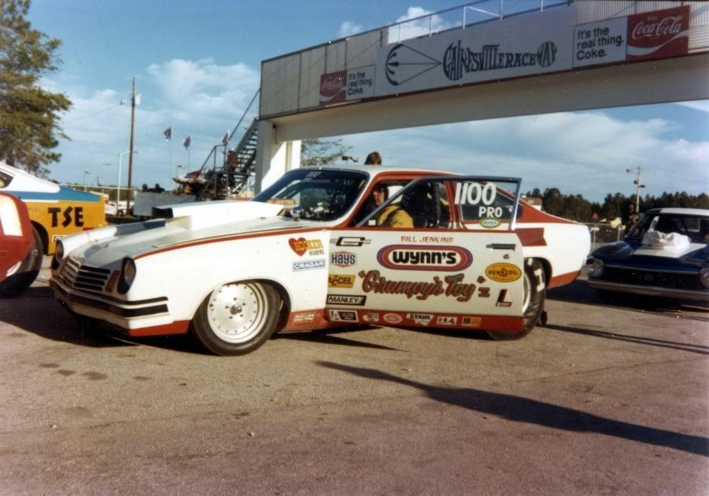 Bill jenkins drag racing vintage racing nhra drag racing