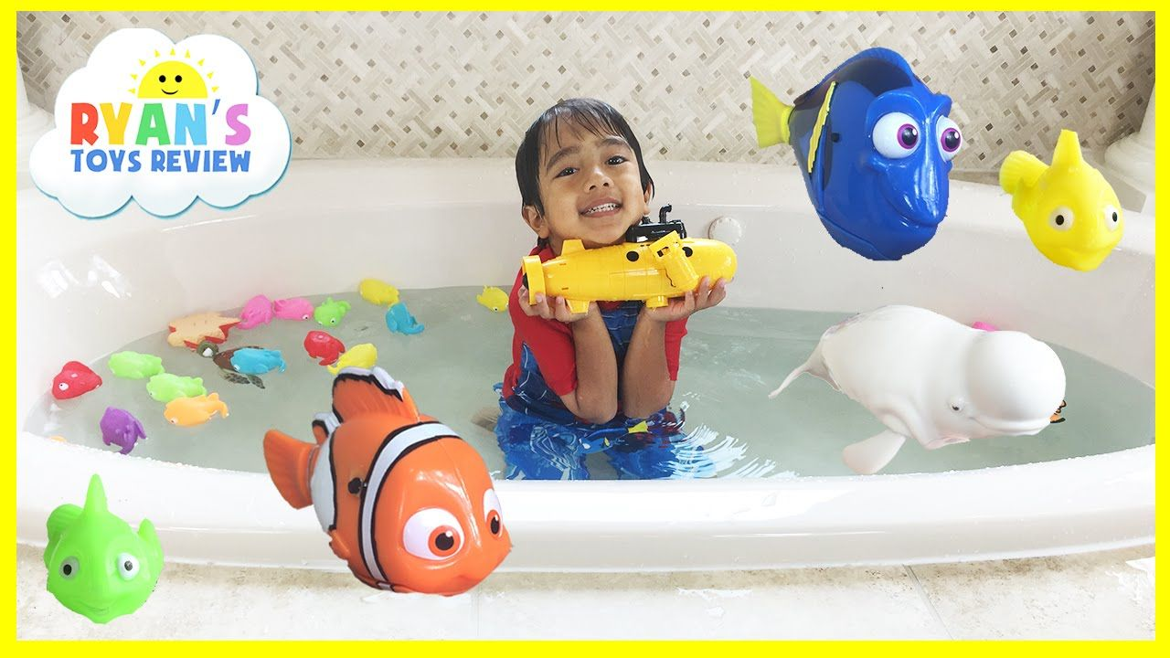 cool disney finding dory water toys playtime in bath remote control