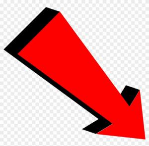 Red Clickbait Arrow Png Arrow Illustration Arrow Background Arrow Clipart