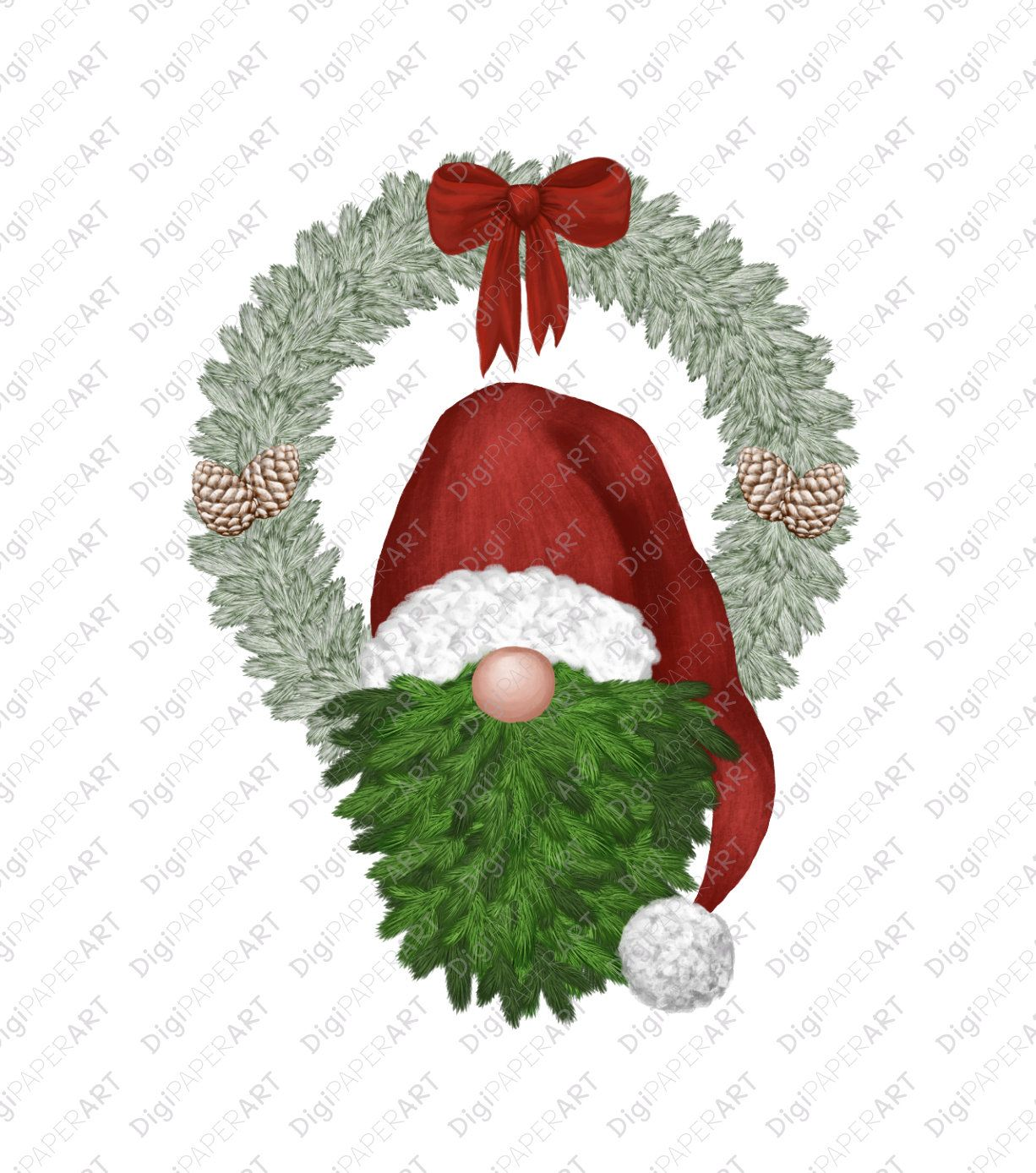 Santa Gnome PNG, Christmas Gnome Clipart, Scandinavian Gnomes Clipart, Nordic Gnomes Clip Art, Tomte Nisse Graphic PNG Design Elements #christmasgnomes