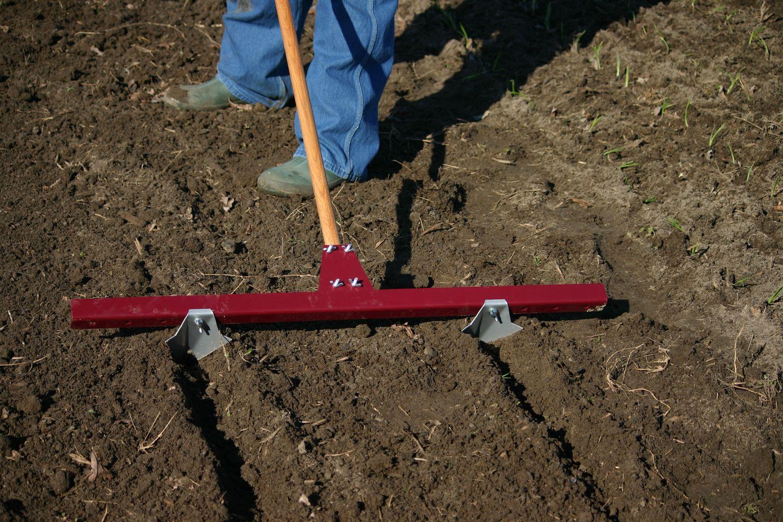 Row Maker Create Perfect Planting Furrows Usa Made Garden