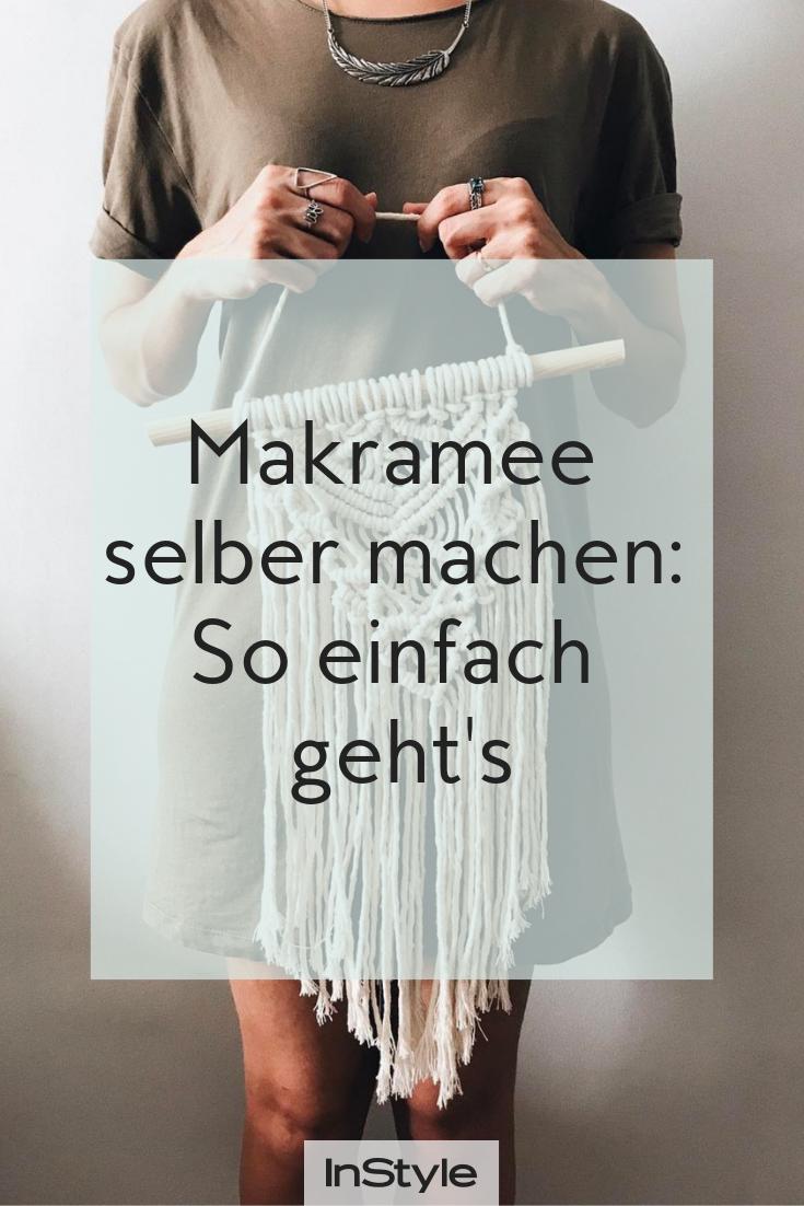 Du liebst Makramee? So machst du den Interior-Trend selber #wanddekoselbermachen