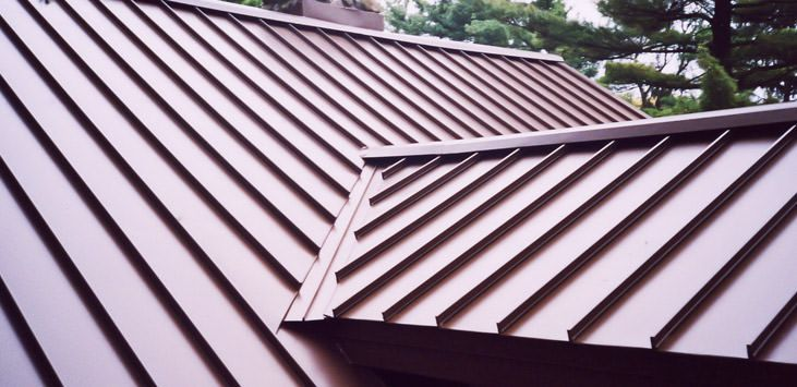 Clicklock Standing Seam Classic Metal Roofing Systems Standing Seam Standing Seam Metal Roof Metal Roofing Prices
