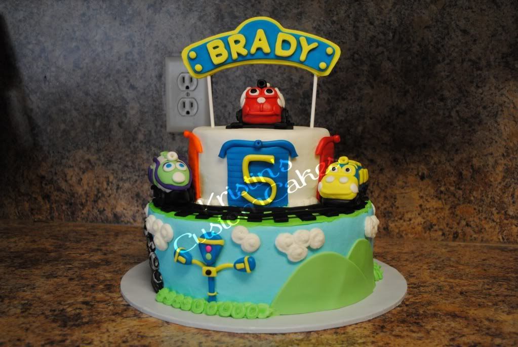 Chuggington birthday cake this may be my favorite Use his actual