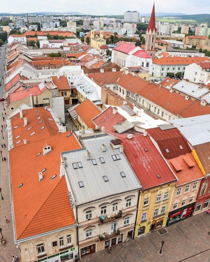 Exploring the Colorful Old Town of Kosice Slovakia Travel Guide