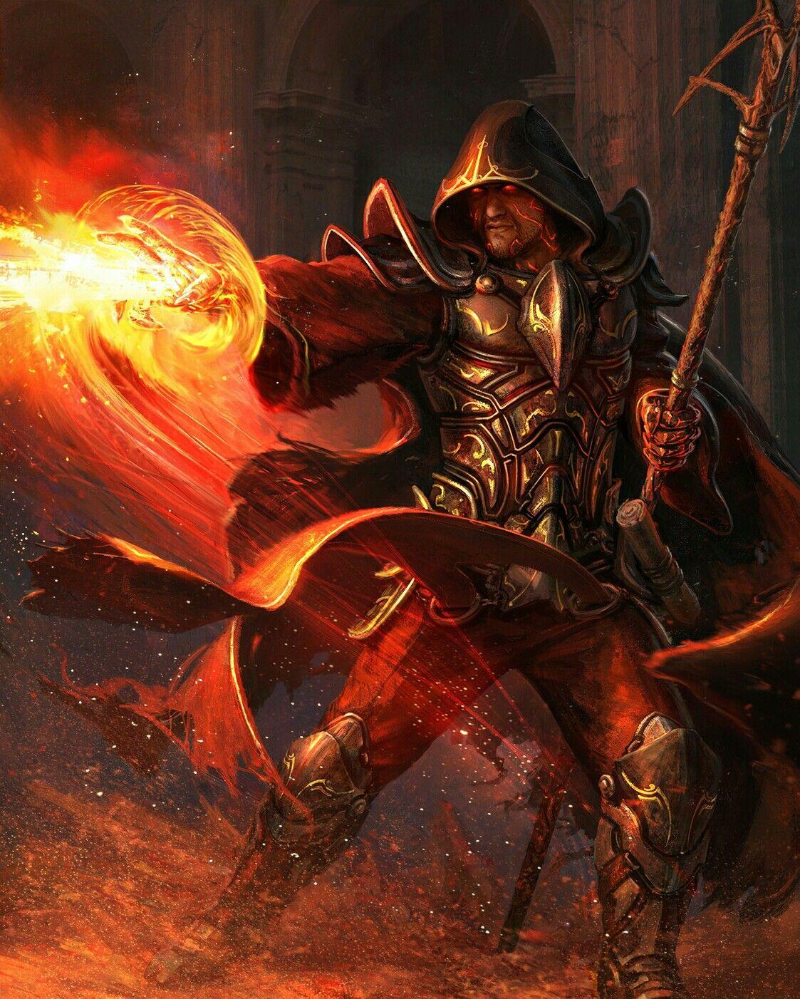 Cambion Tiefling Warlock Fantasy Wizard The Warlocks Fantasy Inspiration