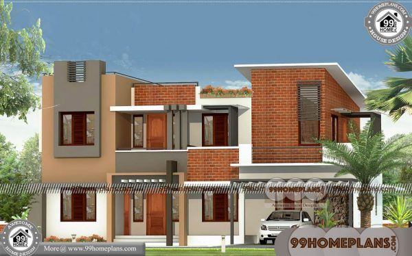 Contemporary Designs of Houses & 90+ Two Floor House ...