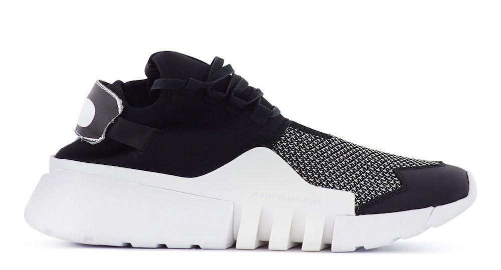 detailed look 76b6b 28fe4 Y-3 ADIDAS YOHJI YAMAMOTO MEN SHOES AYERO SNEAKERS TRAINERS WHT BLK CG3169    Men s Shoes   Shoes, Adidas, Sneakers