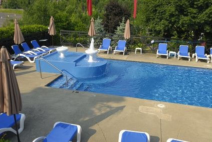 How To Shock A Pool With Bleach Swimming Pools Concrete And Decking