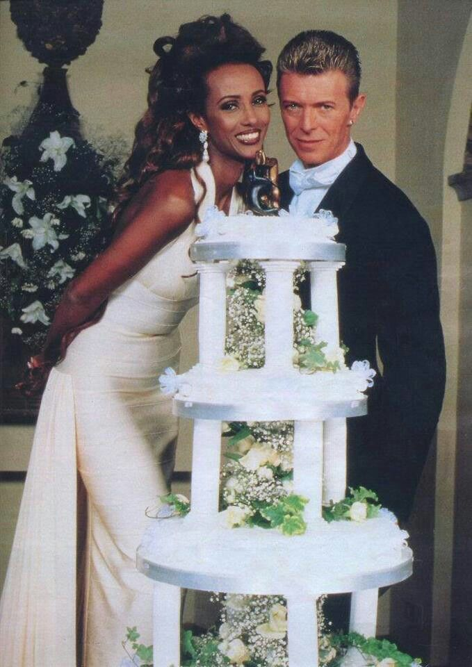 David Bowie and Iman's love story - CBS News