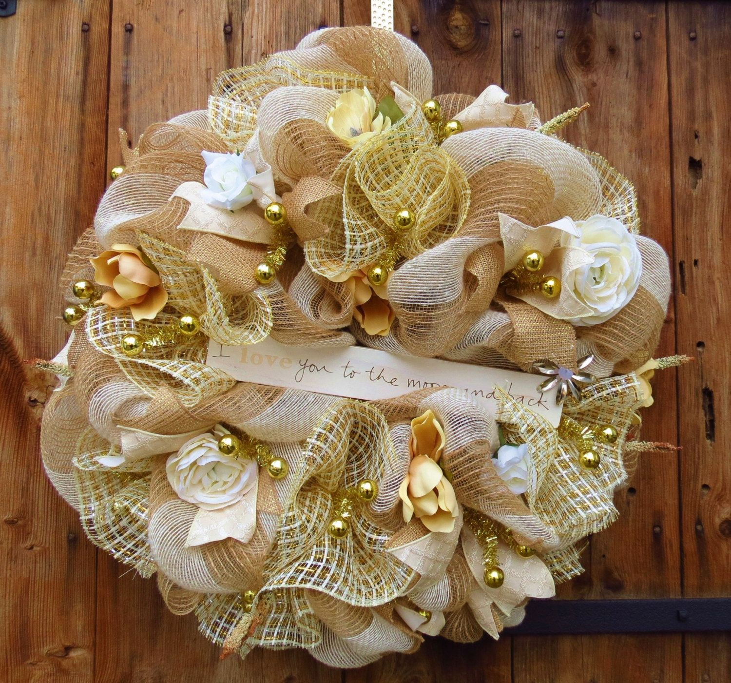 Deco Mesh Wedding Centerpieces Request A Custom Order And Have
