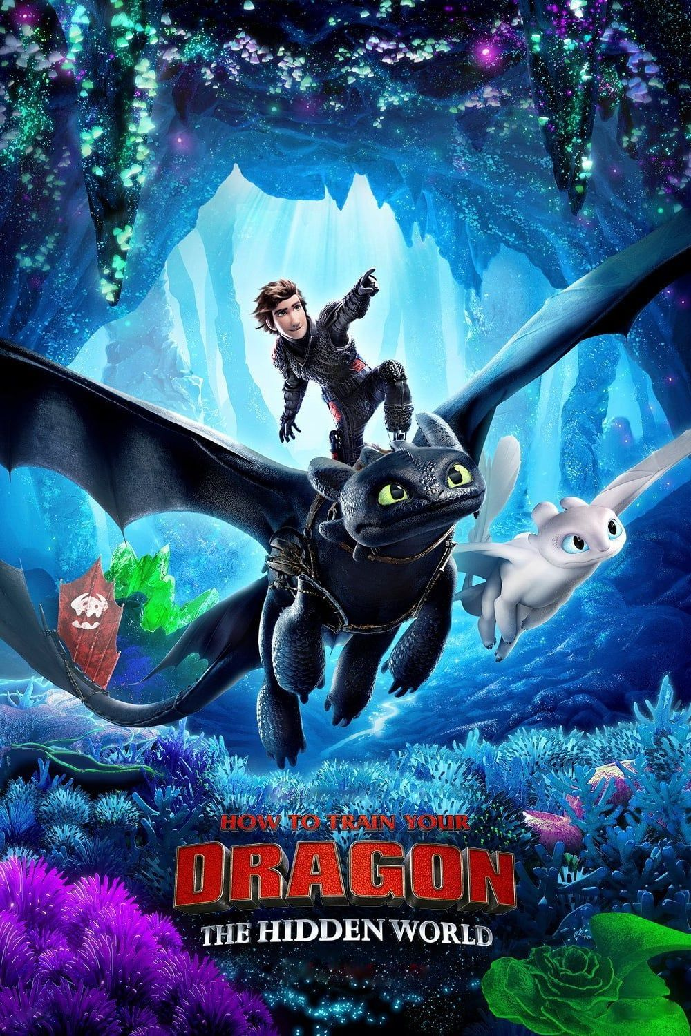 How to Train Your Dragon 3 Wall Movie Poster  8x10 11x17 16x20 22x28 24x36 27x40