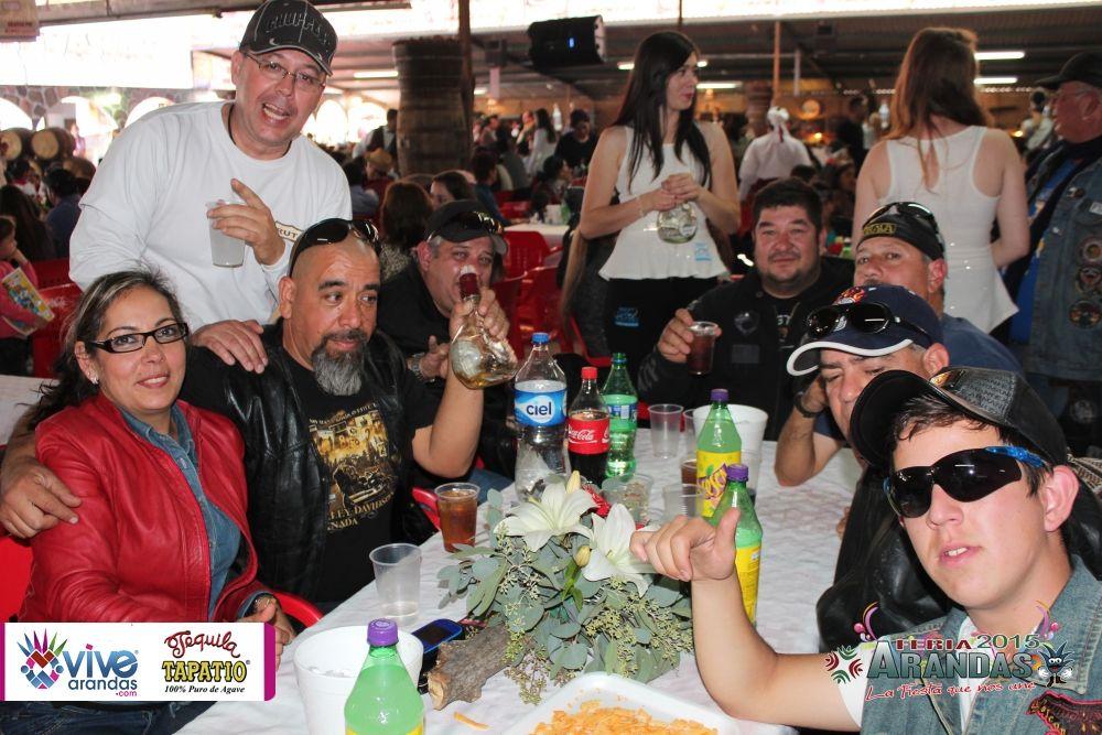 Vive Arandas, Jalisco, La Revista Electrónica – Tequila Tapatío presenta la Comida de Inauguración de Feria Arandas 2015.