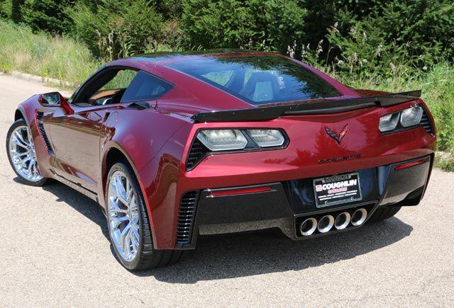 Pics 2016 Corvette Z06 In New Long Beach Red Corvettes