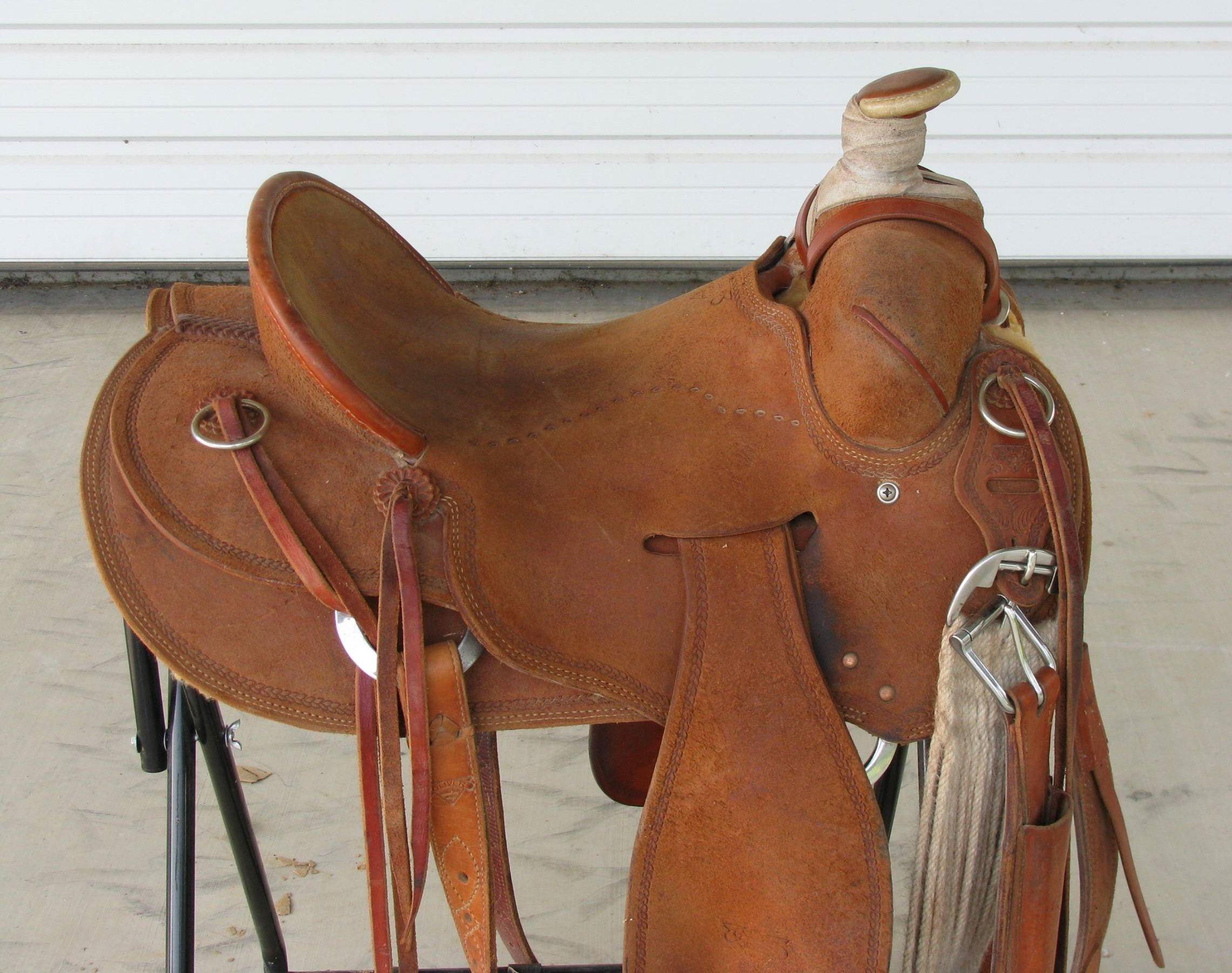 Oliver Seat Rig Saddle for Sale - For more information ...