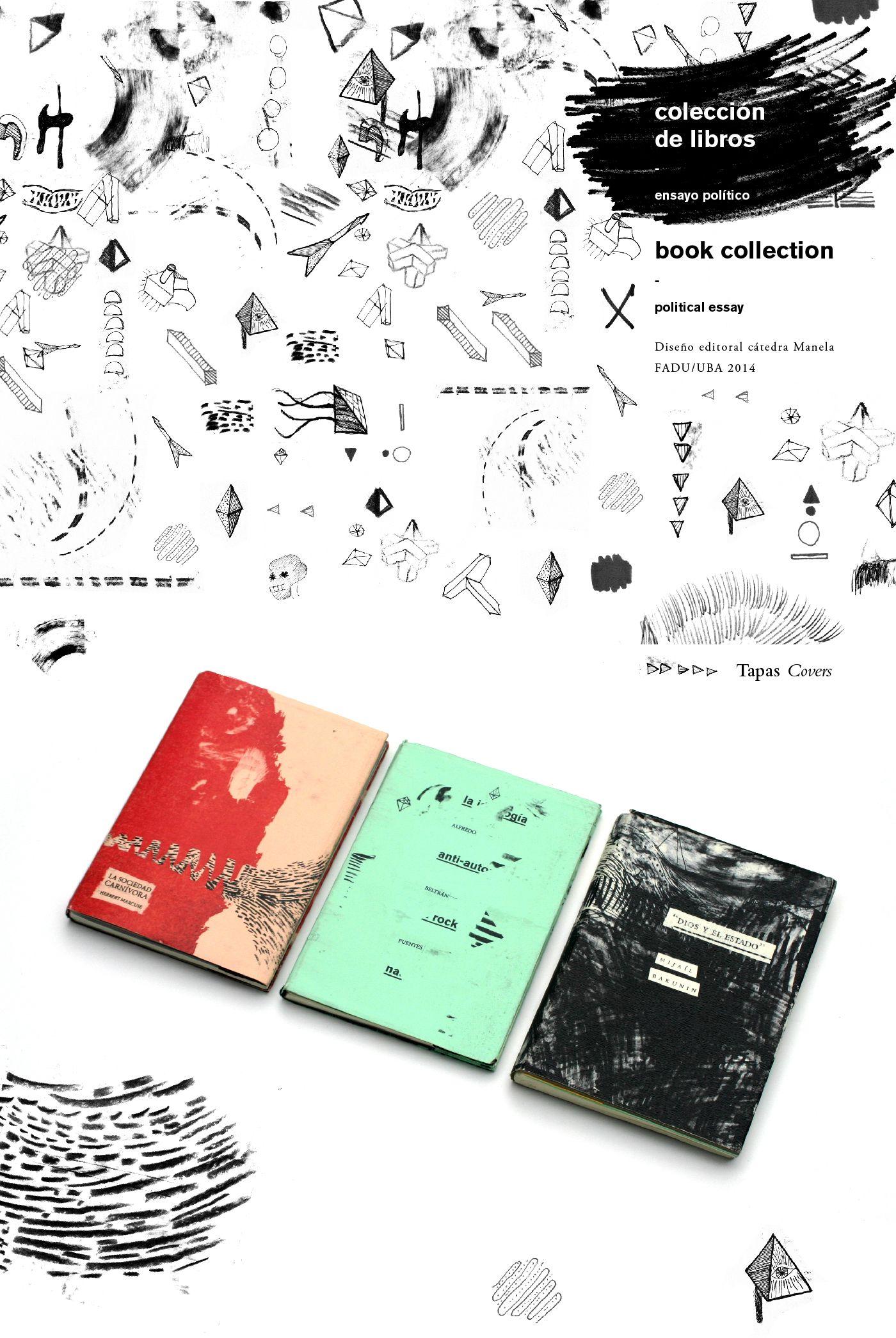 Book collection of political essay.Editorial Manela, FADU 2014
