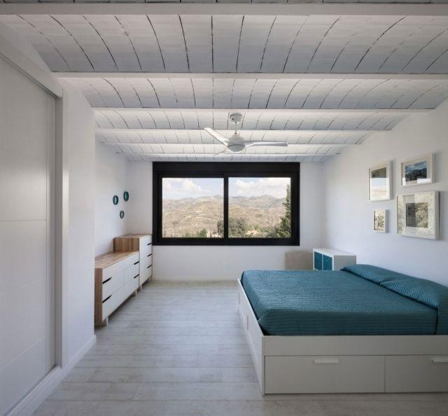 Plafond design 90 idées merveilleuses pour votre intérieur! - ventilateur de plafond pour chambre