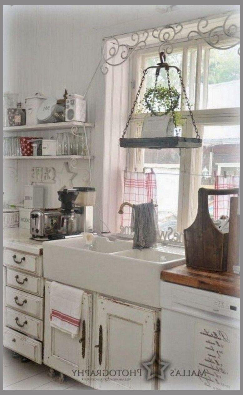 70 Graceful White Shabby Chic Kitchen Wall Shelves White Shabby Chic Kitchens Shabby Chi Shabby Chic Kitchen Shabby Chic Room Shabby Chic Dining Room